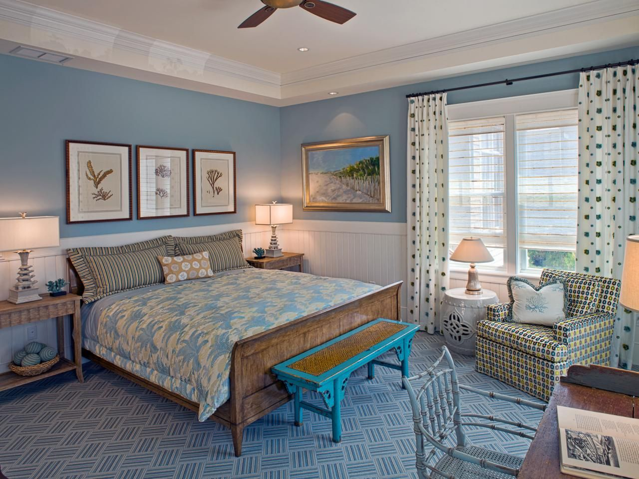 Light Blue Bedroom Design