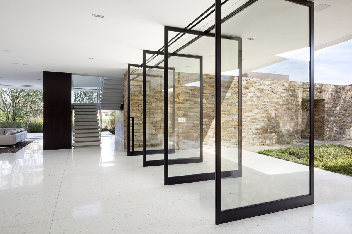 Madison house Pivot Doors