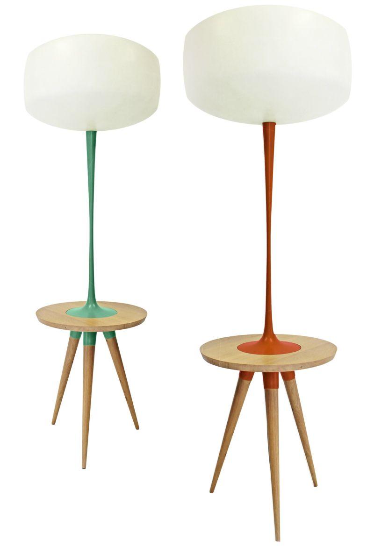 Mandarine tripod floor lamp design