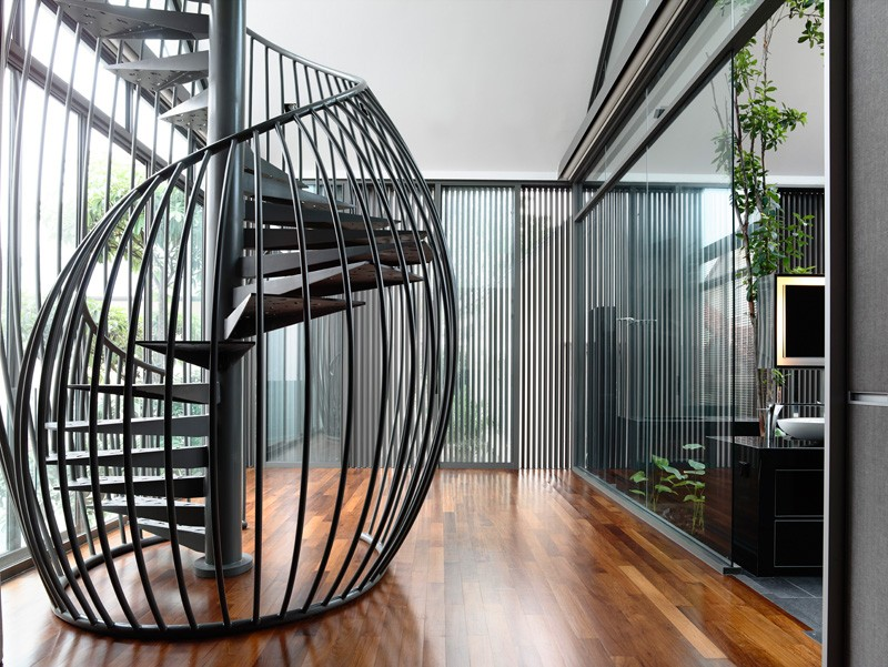 Modern staircases that stand out for unique reasons for Different stairs design