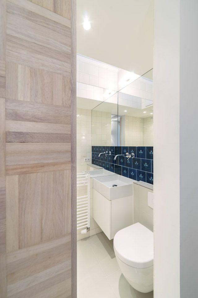 Micro Apartment in Moabit Spamroom Bathroom Design