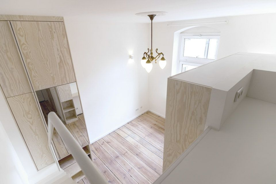 Micro Apartment in Moabit Spamroom Upstair