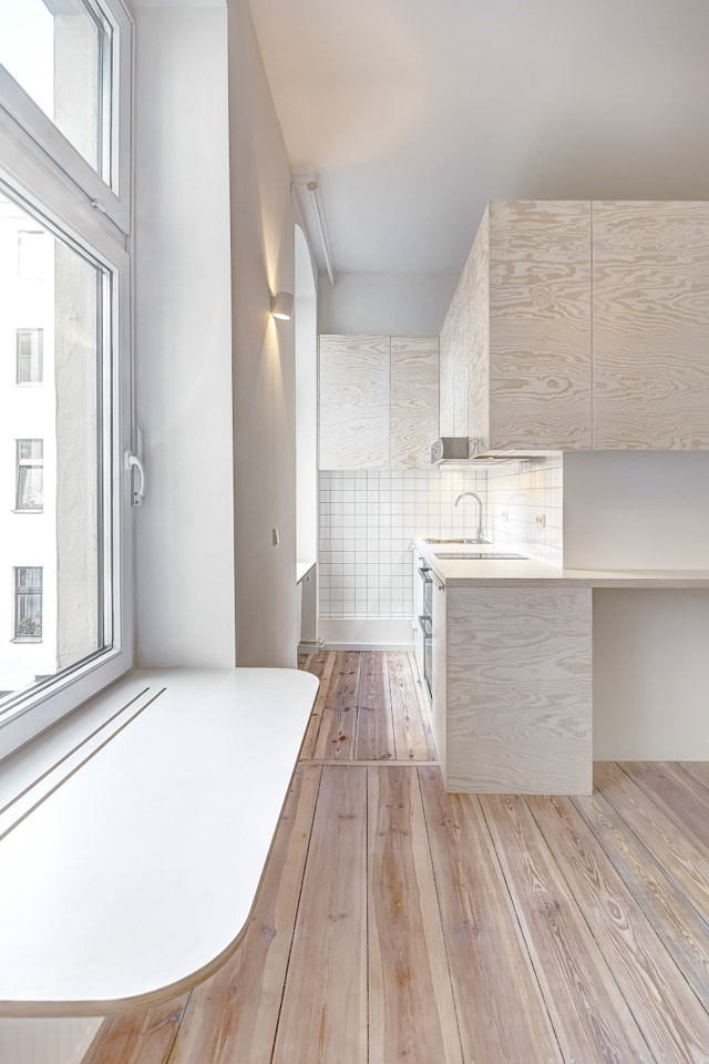 Micro Apartment in Moabit Spamroom kitchen