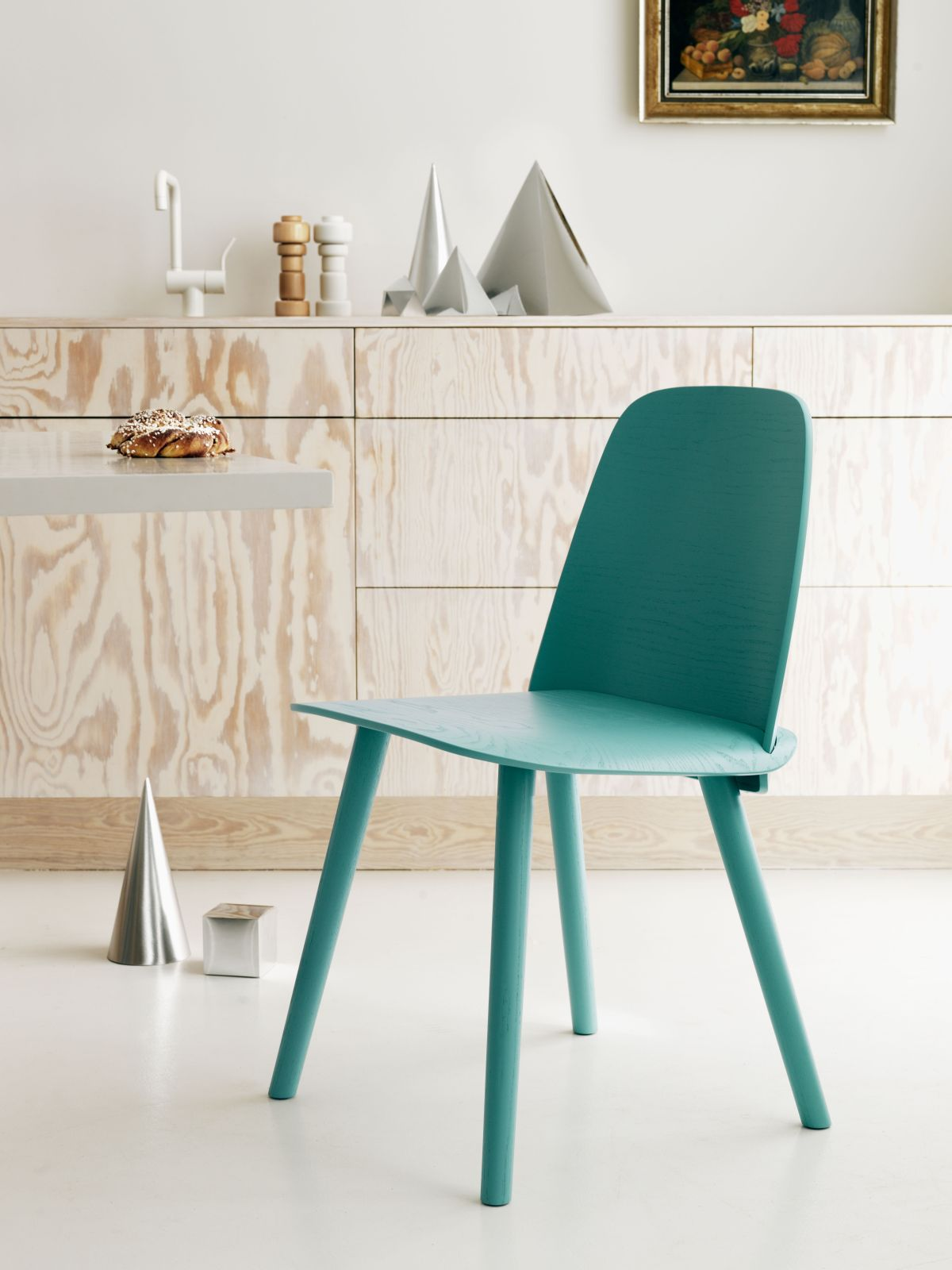 scandinavian furniture style. Minimalist Painted Chair To Achieve Scandinavian Style Furniture