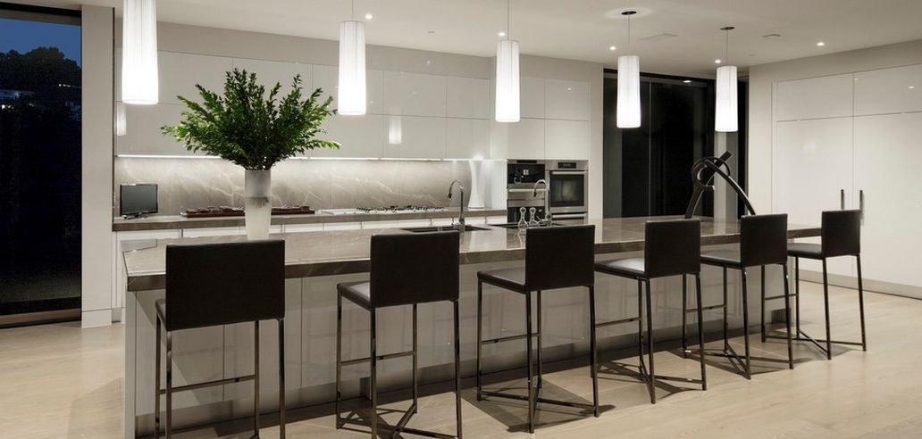 Modern kitchen color palete