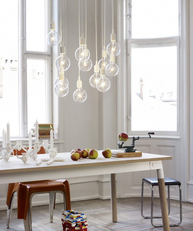 Modern lighting to scandinavian design
