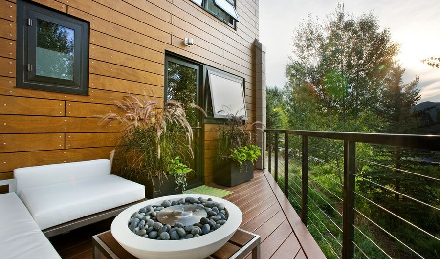 Modern small balcony design