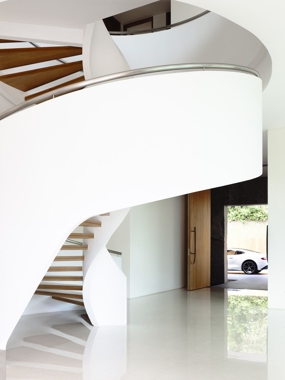 Superior Modern Spiral Staircase 65BTP By ONG ONG1