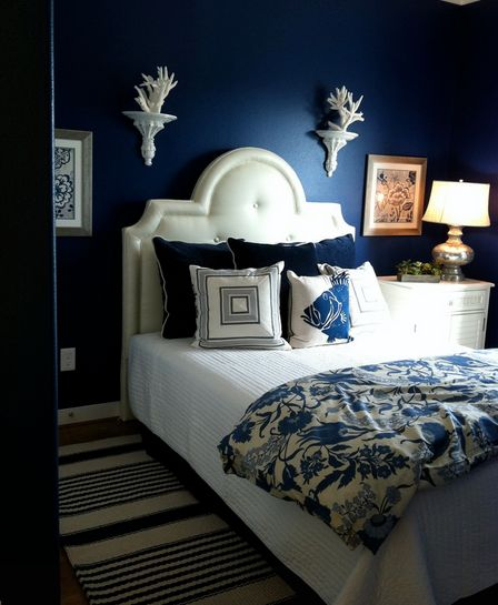 Teal Blue Bedroom Decor