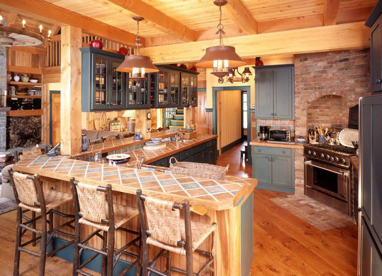 Mountain Home Kitchen Design