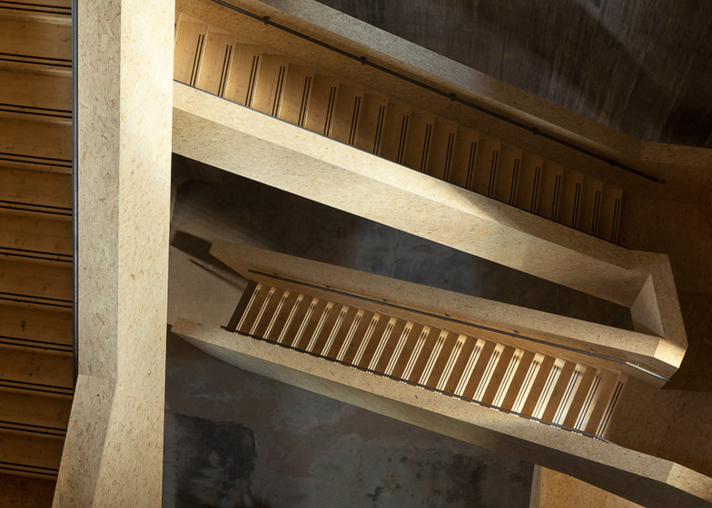 Old Water Tower Staircase Design