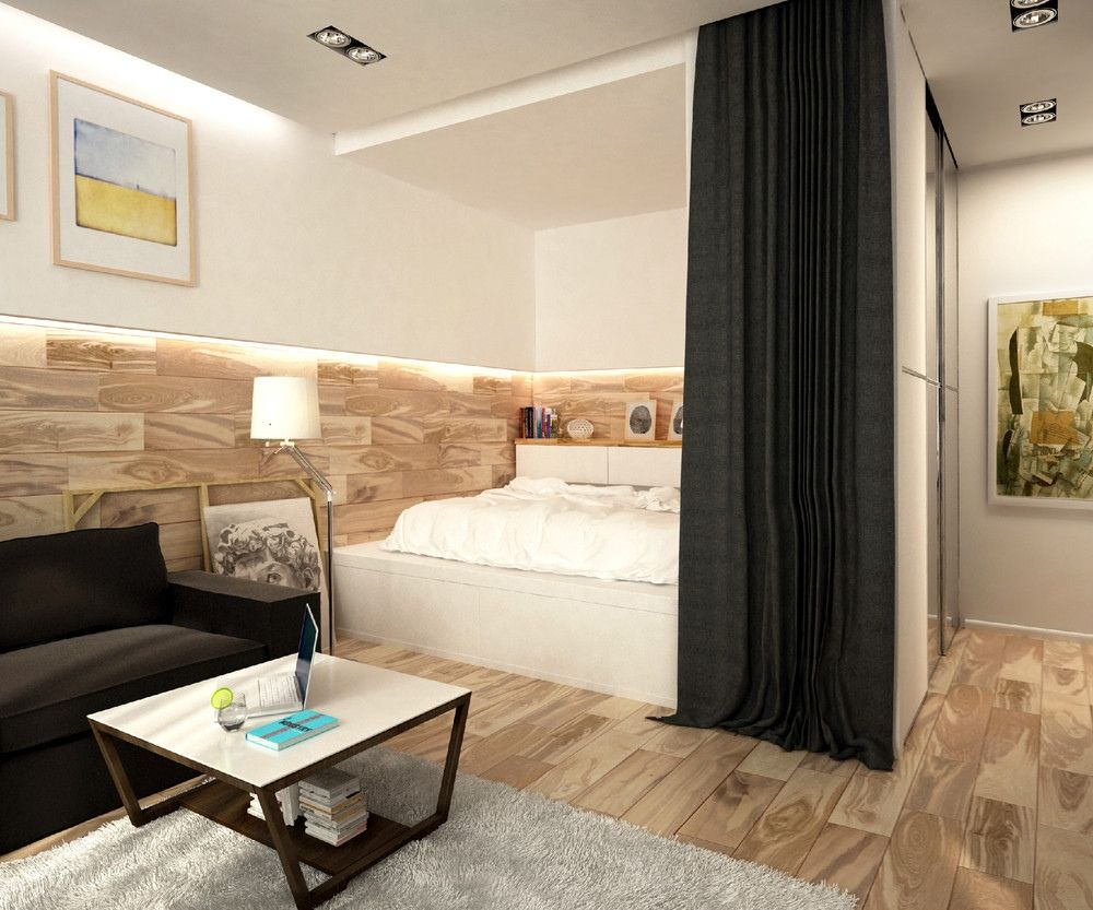10 efficiency apartments that stand out for all the good for Single bedroom apartment design
