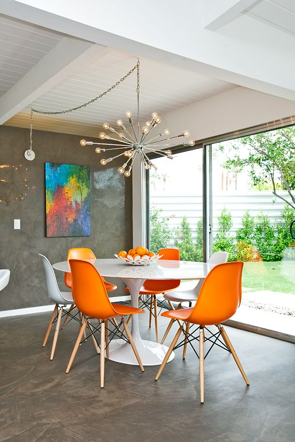 Orange Kitchen Table And Chairs