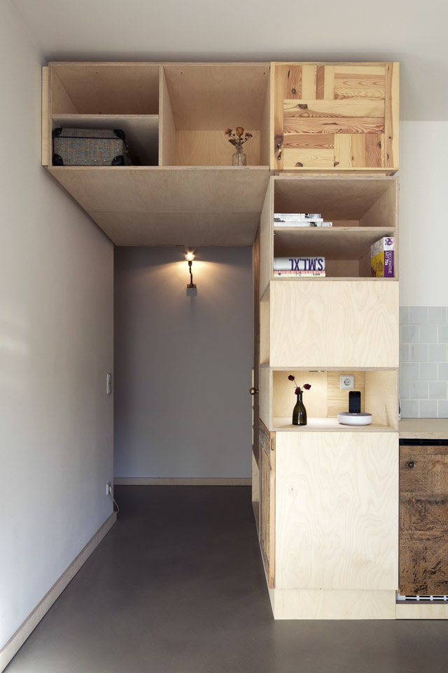 Plus One Small Apartment in Berlin Boxed