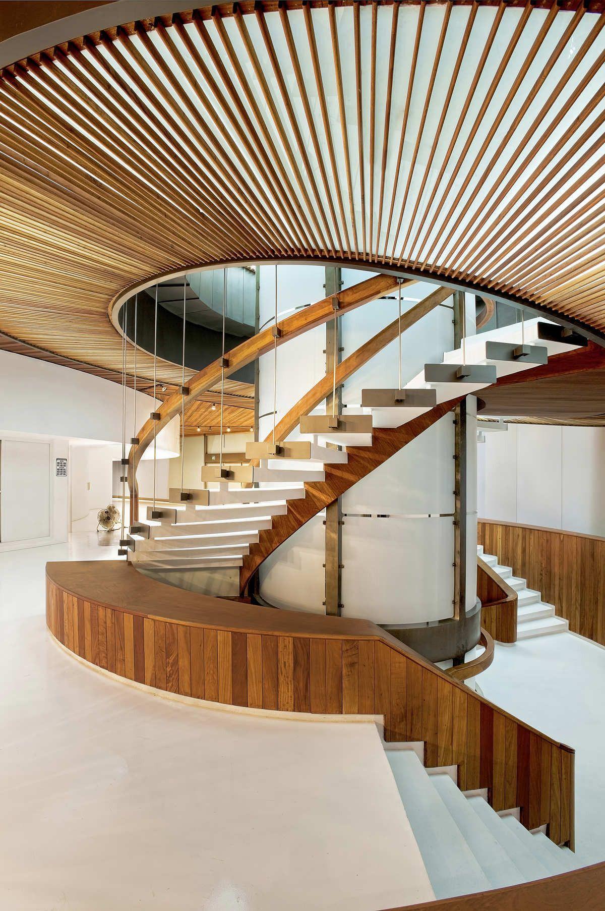 Polyforum Siqueiros Galleries Staircase