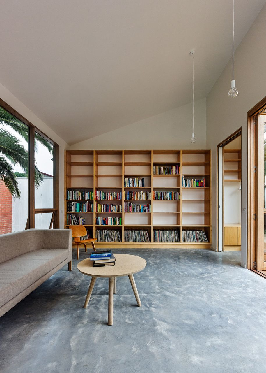 Profile House Home Library Design