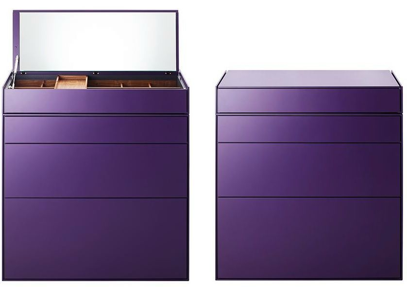 Purple dressing table furniture