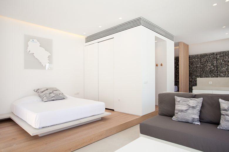 Relux Ios Island Hotel bedroom suite