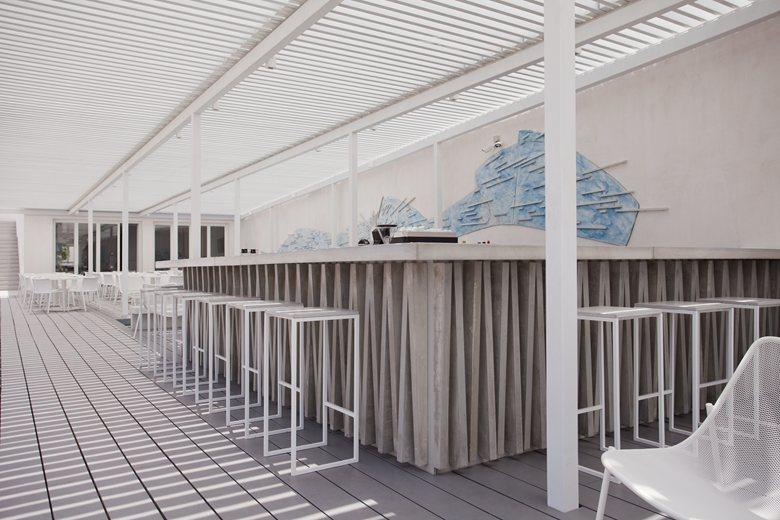 Relux Ios Island Hotel interior bar
