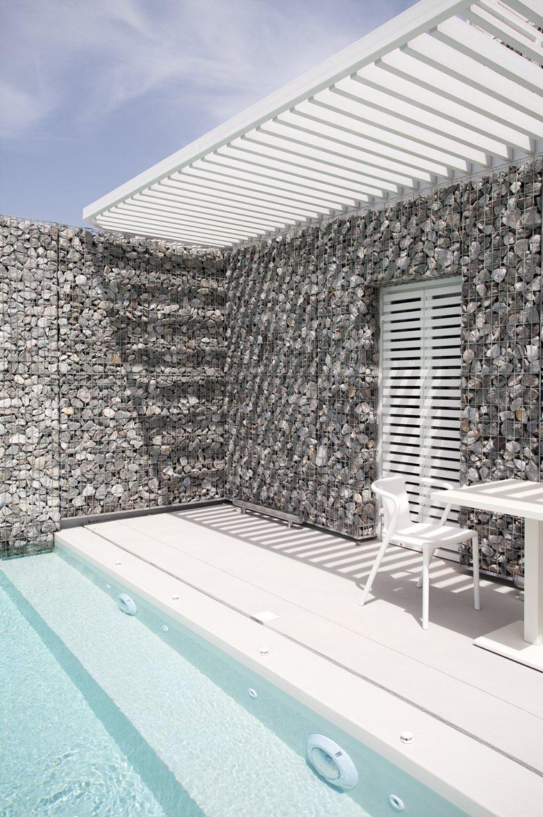 Relux Ios Island Hotel outdoor pergola