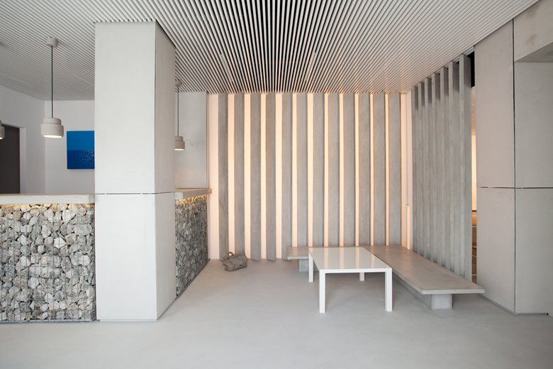 Relux Ios Island Hotel reception area