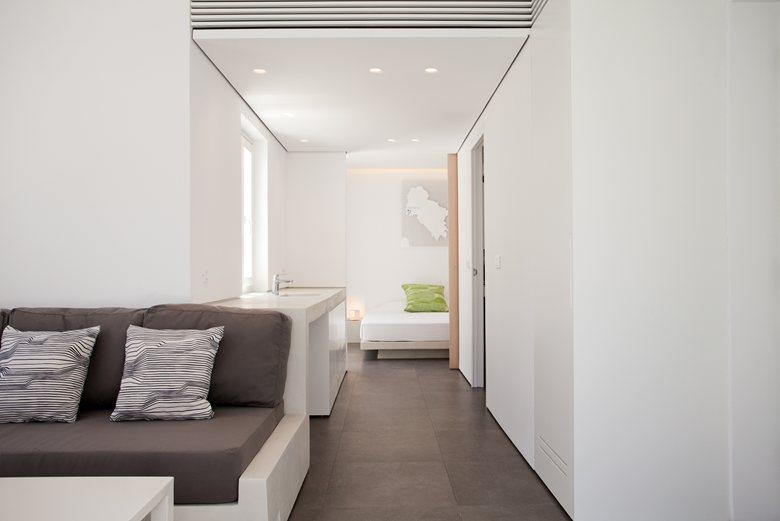 Relux Ios Island Hotel suite interior