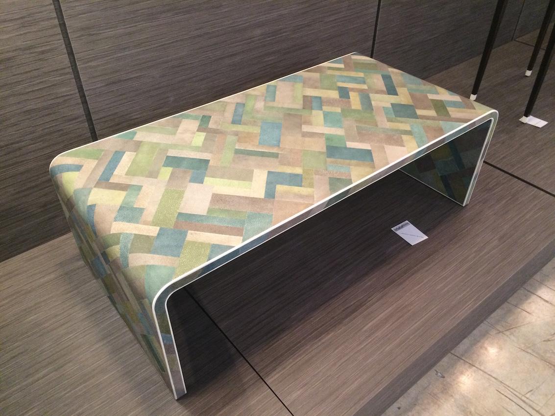 Shagreen table