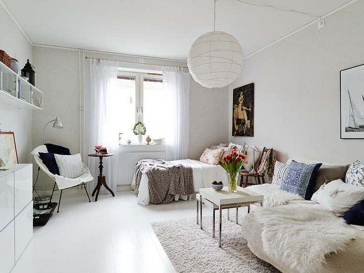 Simple minimalist nordic decor & 10 Efficiency Apartments That Stand Out For All The Good Reasons