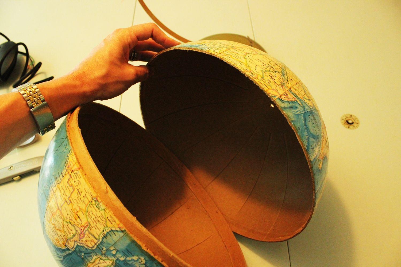 Sliced the Globe