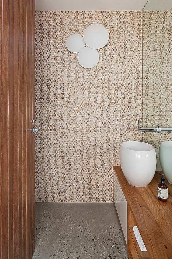 Small Mosaic Tiles for Bathroom