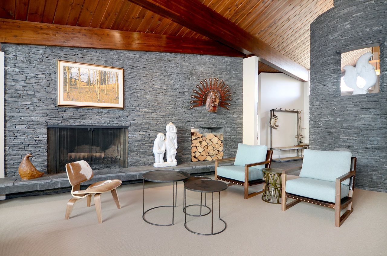 1950s house interior. Stone And Wood For Ranch Style 20 Ranch Style Homes With Modern Interior