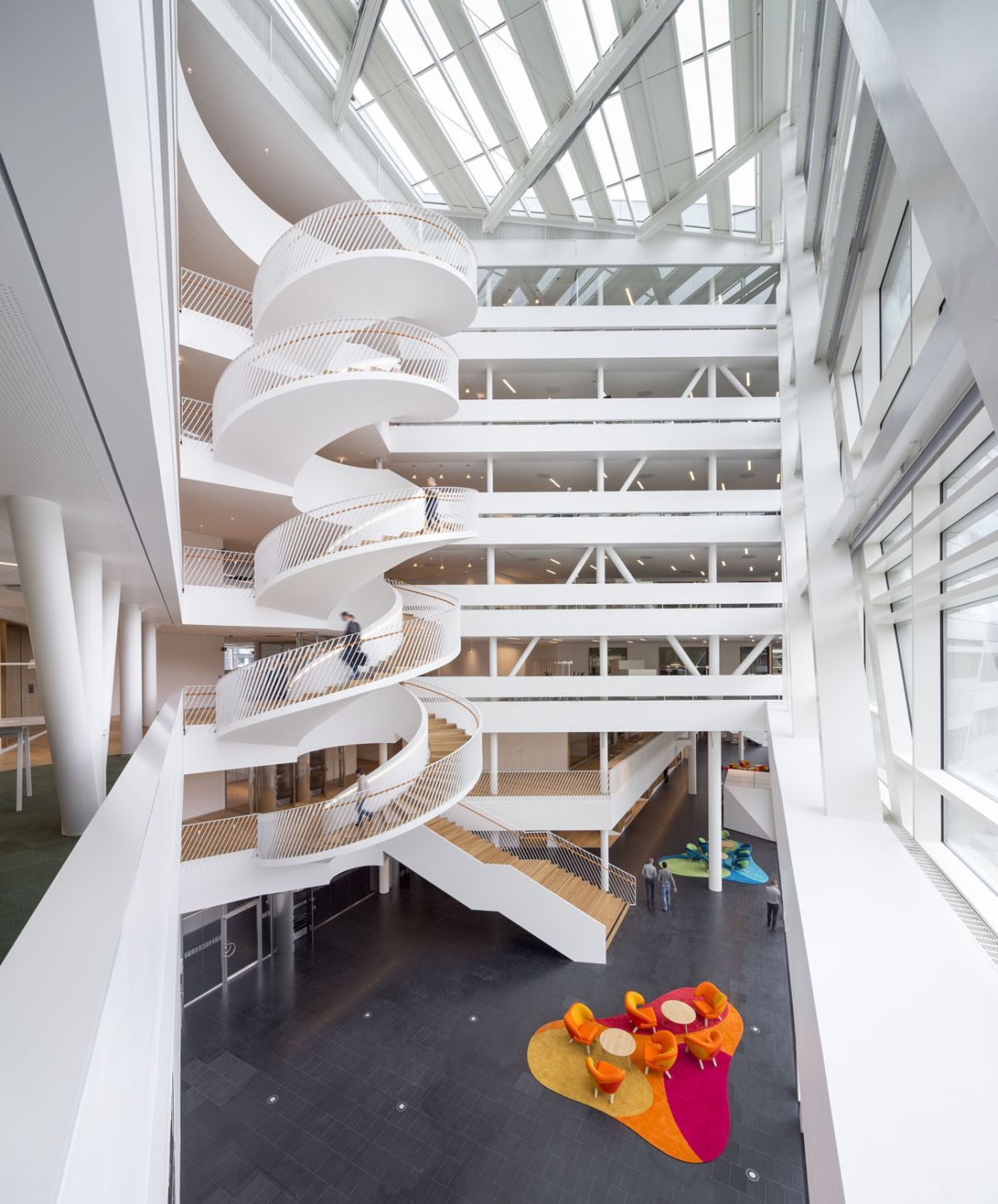 House Exterior Stair Tower : Modern staircases that stand out for unique reasons