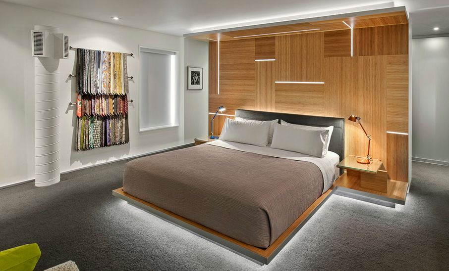 Taylor Smith Architects Bedroom Design