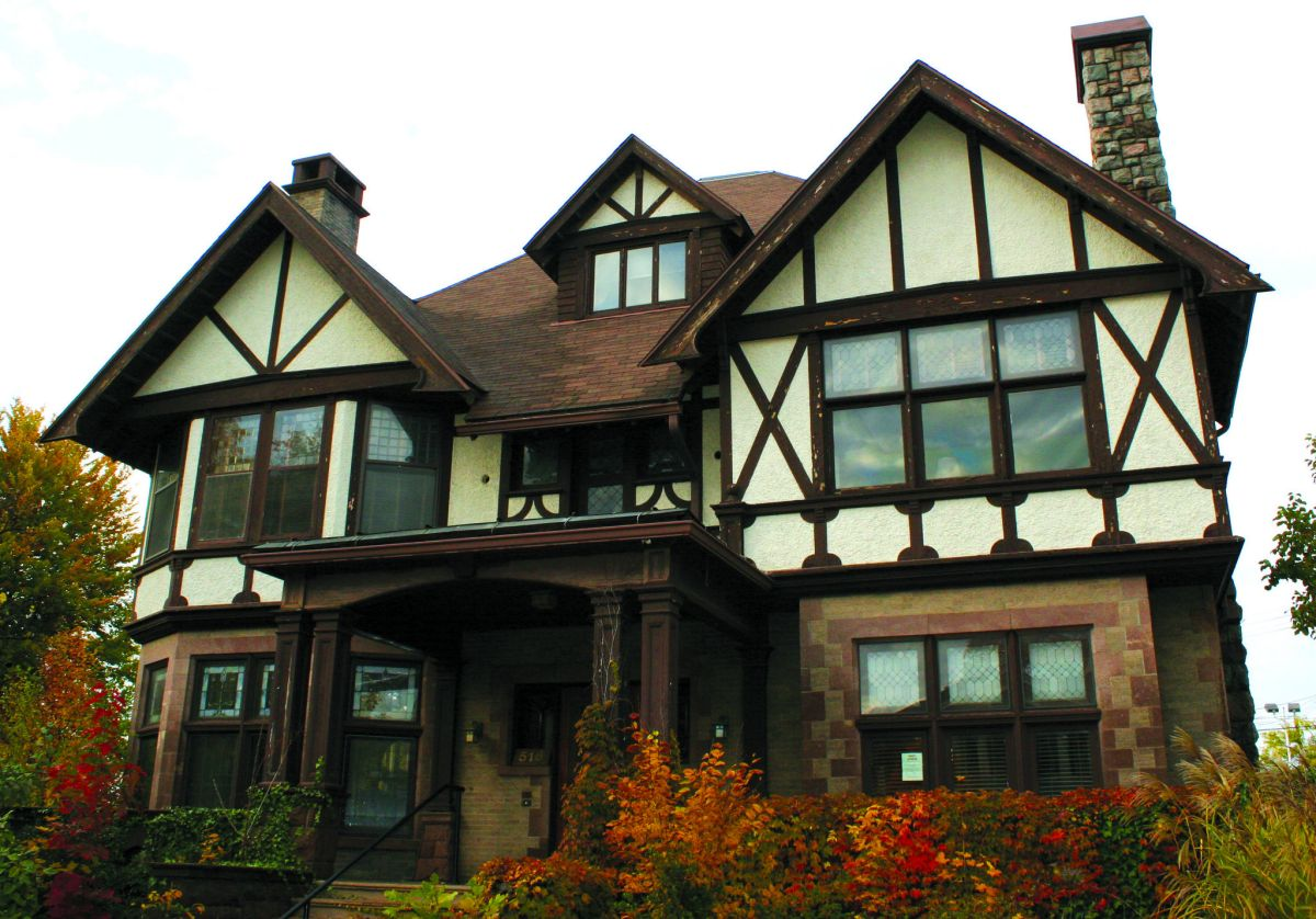 20 tudor style homes to swoon over Tudor style fence