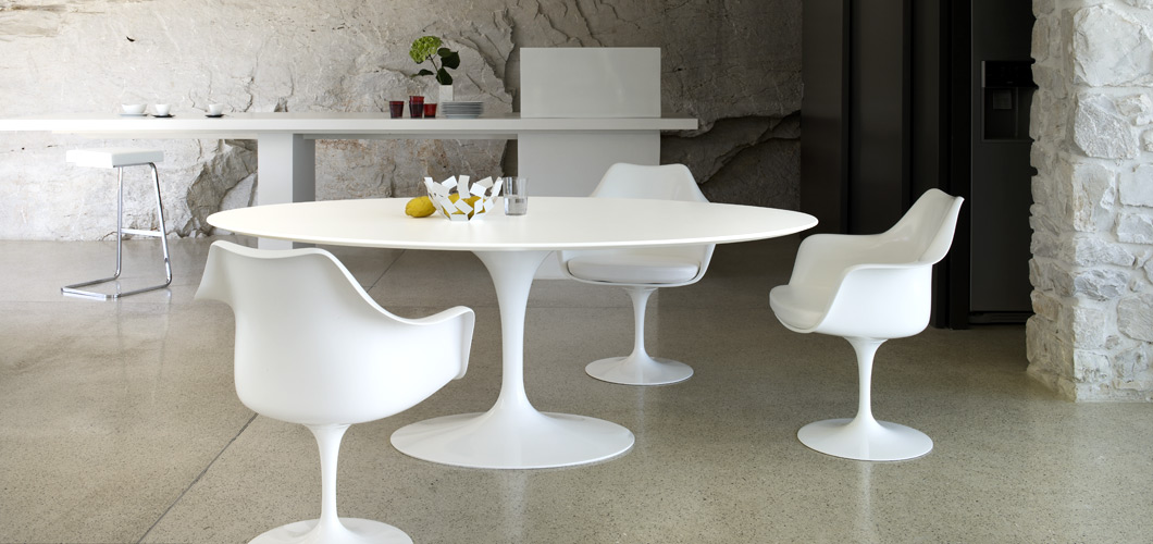 the bloom that doesnt fade saarinens tulip table and chairs - Saarinen Tulip Table