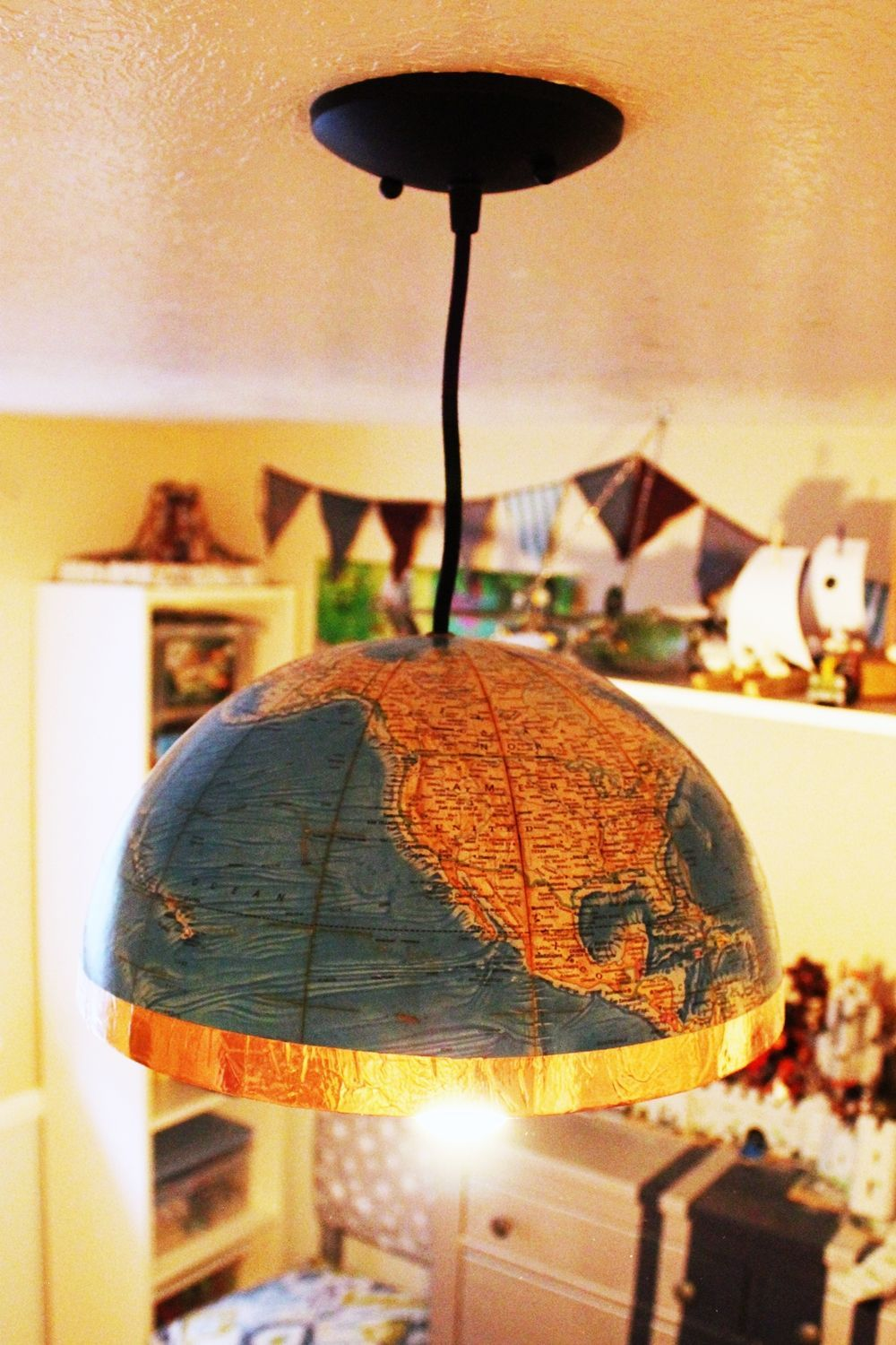 Turn the light on in your new globe