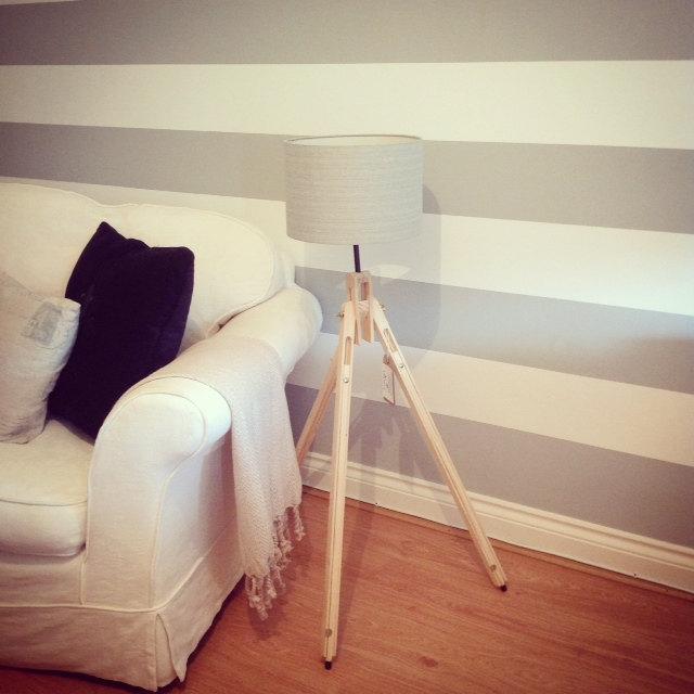 Versatile floor lamp - tripod design