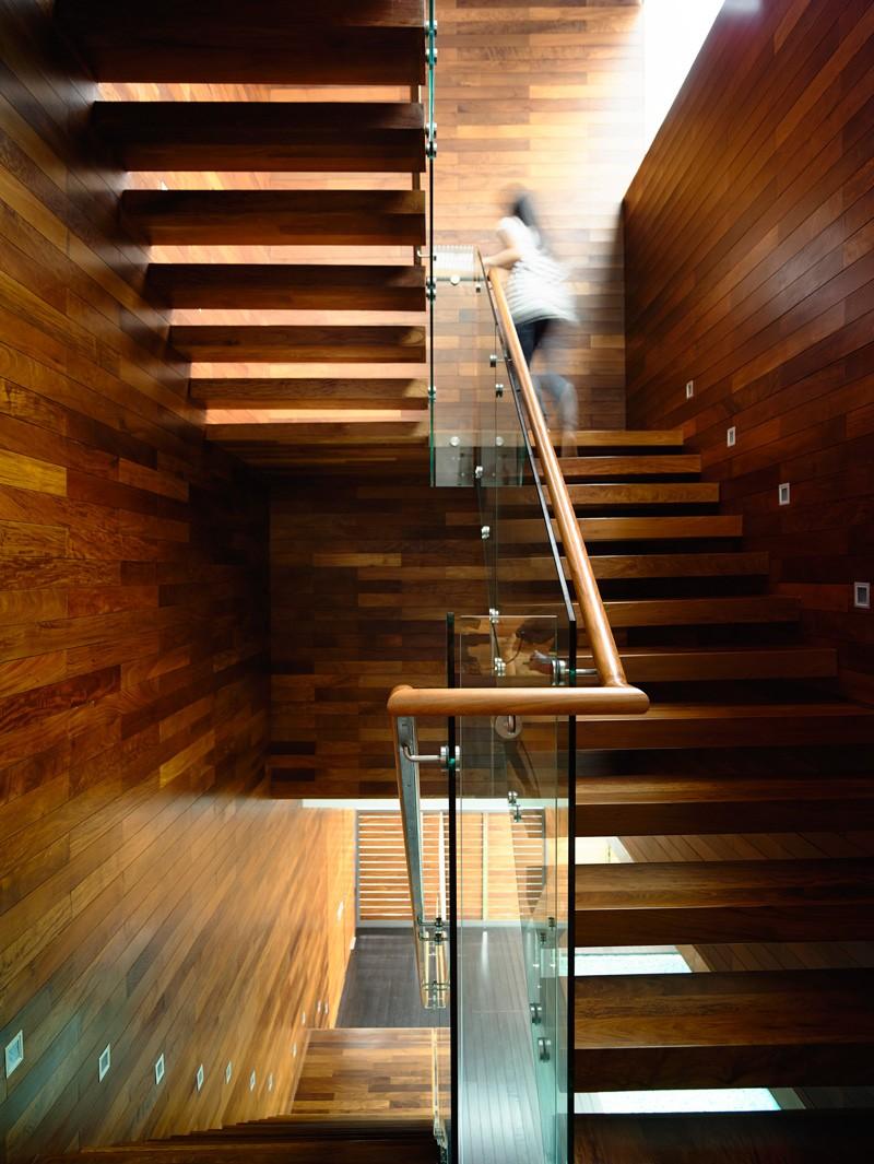 Wood HYLA Design A Contemporary Home