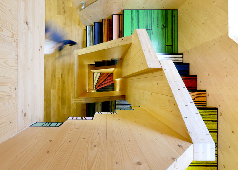 Woodblock House by dRMM