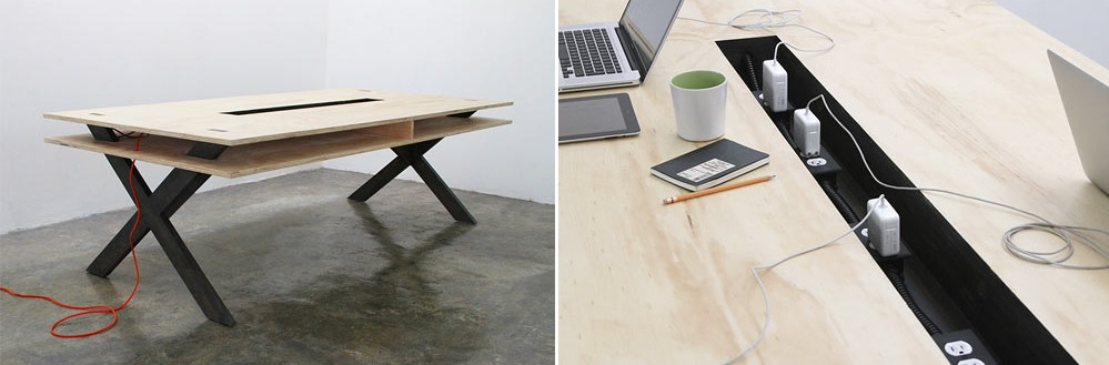 Work Table 002 by Miguel de la Garza