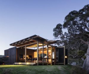 Summer House Gets Immersed In Nature By Its Unique Design