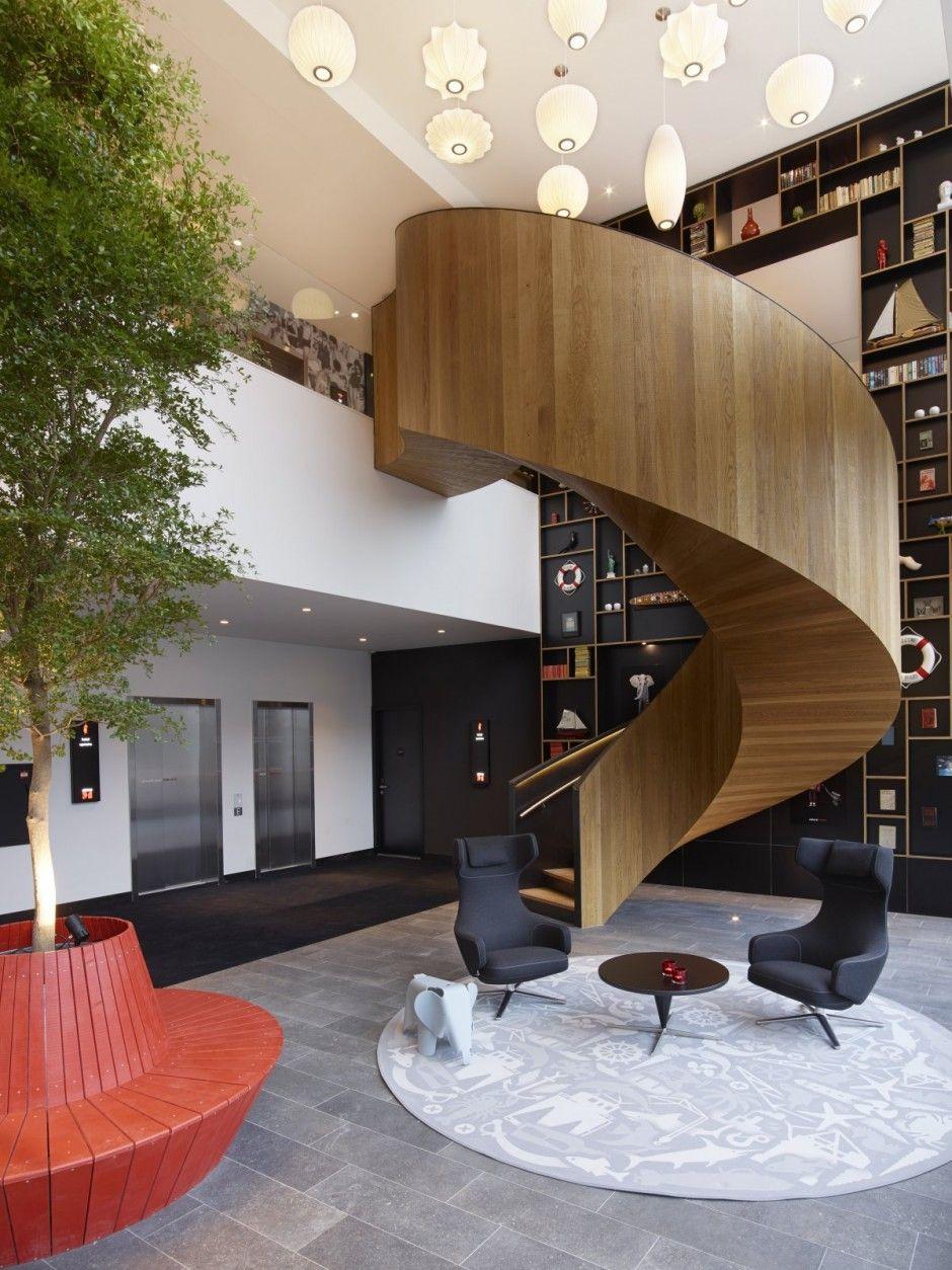 citizenM Rotterdam by Concrete Architectural Associates Staircase