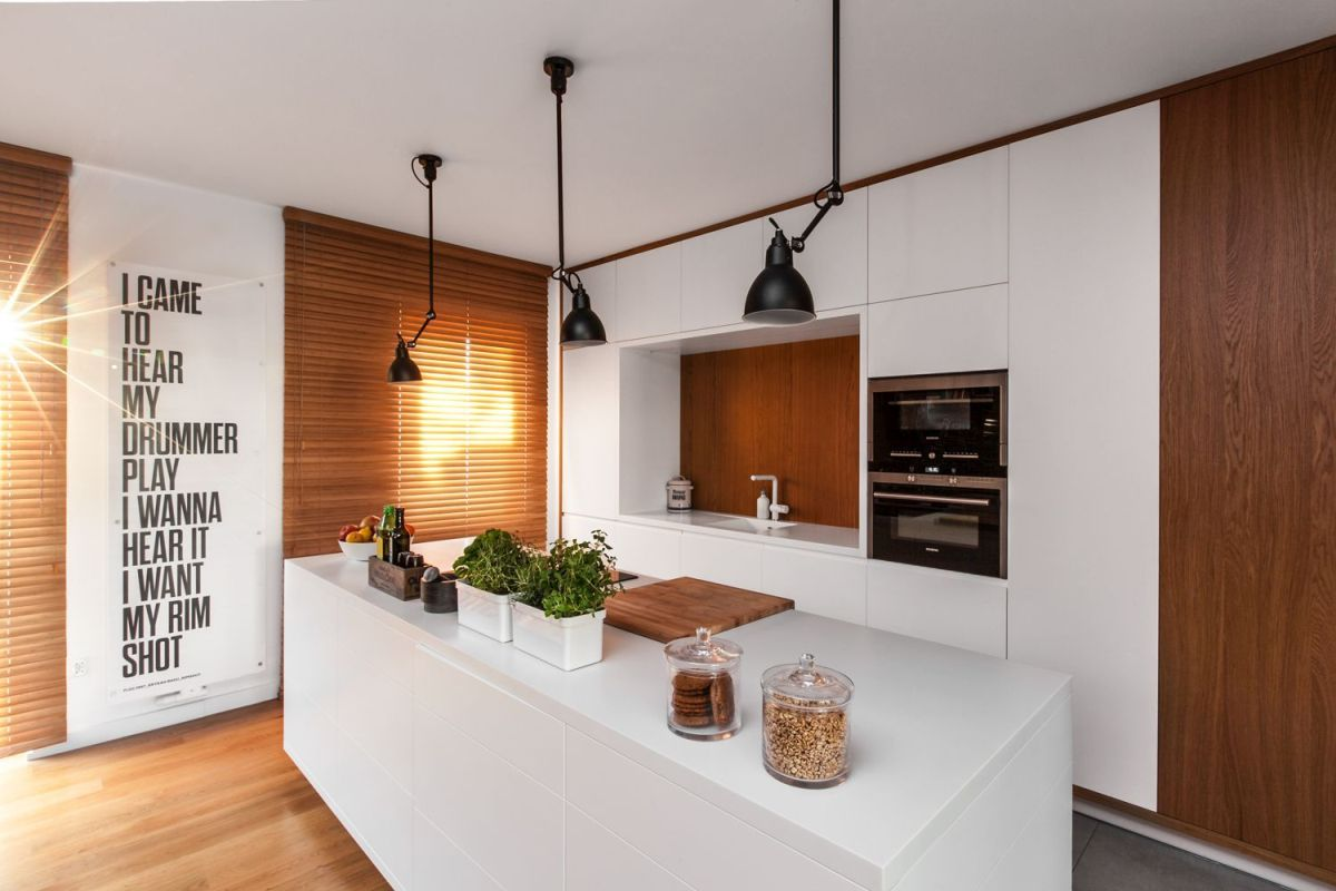 multifunctional family house by modelina kitchen design