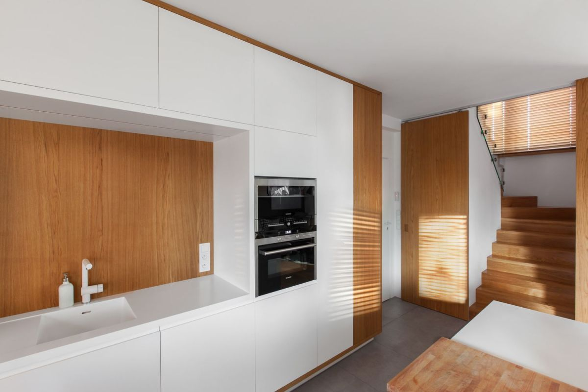 multifunctional family house by modelina kitchen furniture