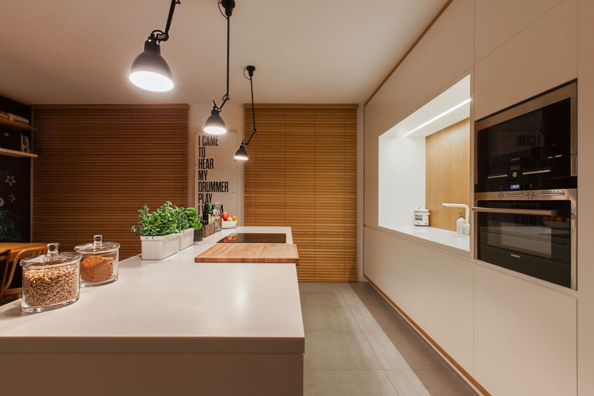 multifunctional family house by modelina kitchen interior