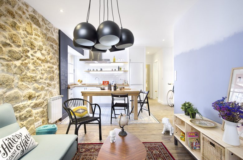 small apartment in Spain social ara