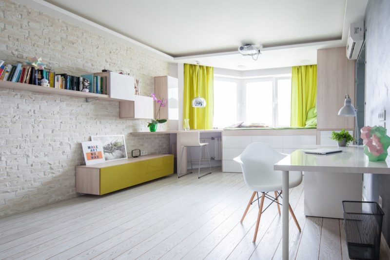 Small Apartment Gets A Fresh New Look That Suits It Like A Glove