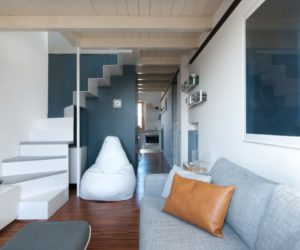 Compact and Stylish Apartment Takes The Place Of A Dental Office