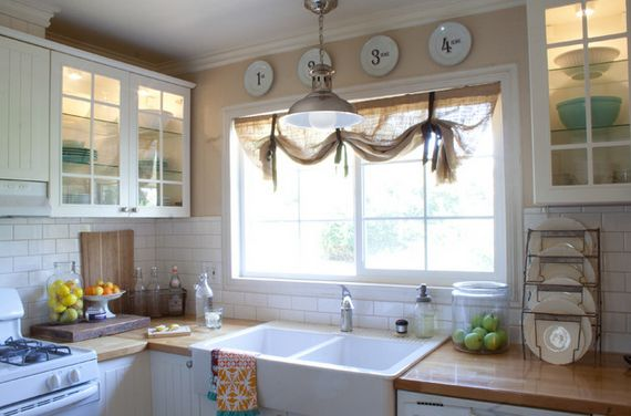 tie up window curtain