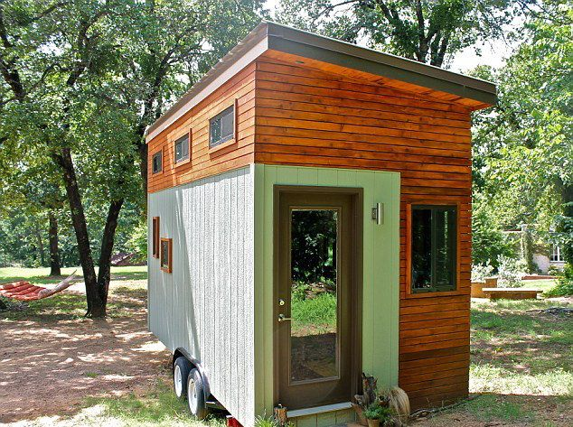 25-year-old Joel Weber Tiny House Exterior